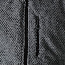 4238 TS DESIGN [秋冬用]マイクロファーベスト(男女兼用)  ポケット