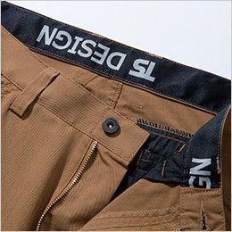 5304 TS DESIGN [春夏用]ライトテックメンズカーゴパンツ(男女兼用) 帯裏デザイン