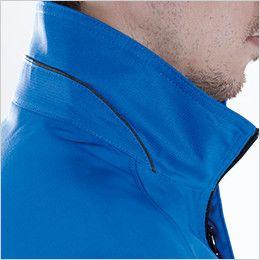 8106 TS DESIGN [通年]AIR ACTIVE ロングスリーブジャケット(男女兼用) 配色パイピング