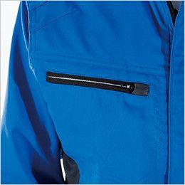 8106 TS DESIGN [通年]AIR ACTIVE ロングスリーブジャケット(男女兼用) ファスナーポケット