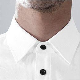 81355 TS DESIGN ES ワークニットショートポロシャツ(男女兼用) 台襟仕様