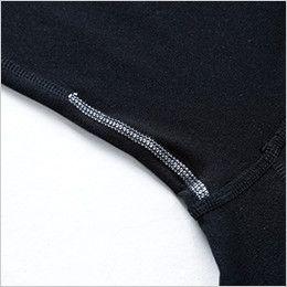 8225 TS DESIGN マイクロフリースロングスリーブシャツ(男性用) 消臭テープ