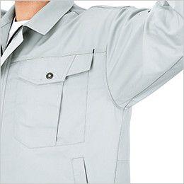 ジーベック 1492 [春夏用]半袖シャツ(男女兼用) 立体裁断
