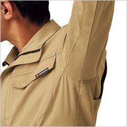 ジーベック 1632 [春夏用]T/Cサマーツイル半袖シャツ(男女兼用) 立体カッティング