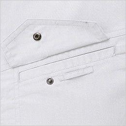 ジーベック 1695 [春夏用]長袖シャツ(女性用) ネムホルダーループ付き