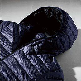 ジーベック 352 ディンプル防寒ブルゾン(男女兼用) フード付