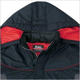 ジーベック 601 防水防寒コート ダブルフード