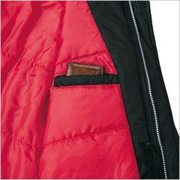 ジーベック 601 防水防寒コート 内ポケット