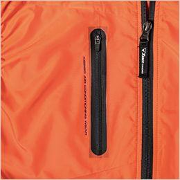 ジーベック XE98010 [春夏用]空調服 ベスト ポリ100% 圧着ファスナーポケットでよりスポーティに