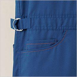 21-1411 ディッキーズ [春夏用]高通気半袖ツナギ 調整リング