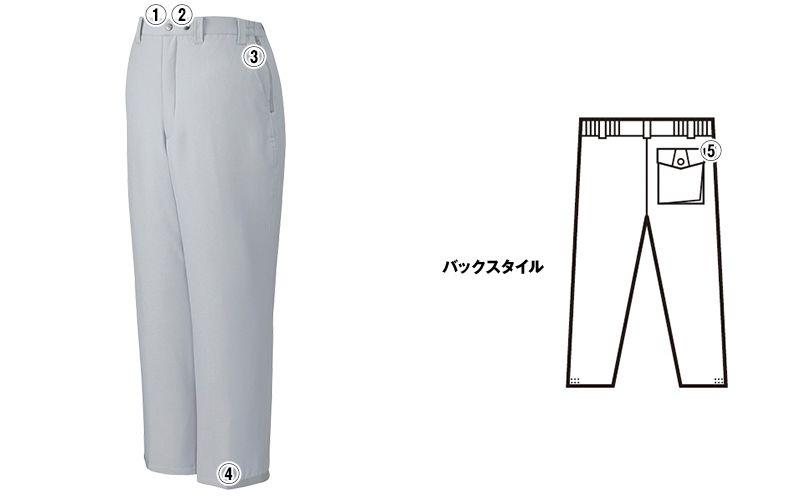 自重堂 48421 制電防寒パンツ 商品詳細・こだわりPOINT