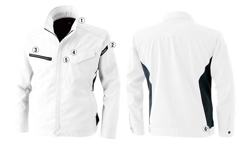 8106 TS DESIGN [通年]AIR ACTIVE ロングスリーブジャケット(男女兼用) 商品詳細・こだわりPOINT