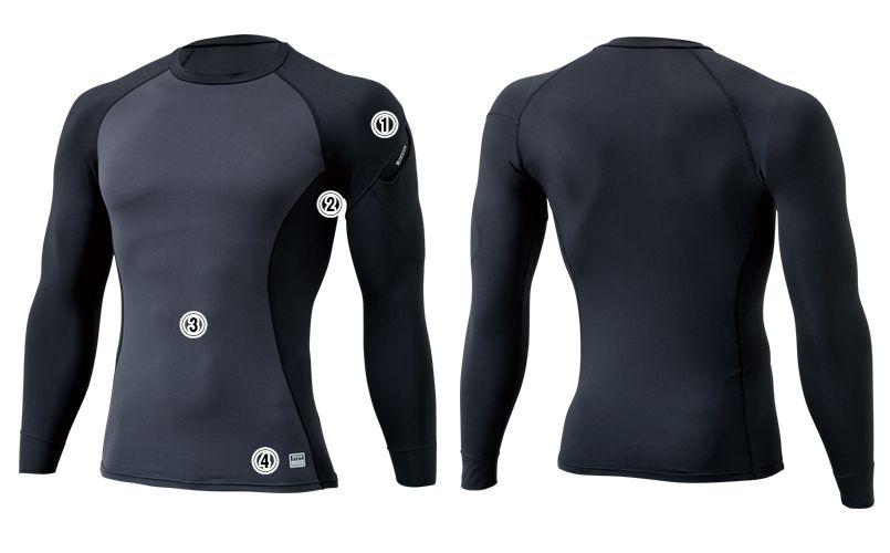 8225 TS DESIGN マイクロフリースロングスリーブシャツ(男性用) 商品詳細・こだわりPOINT